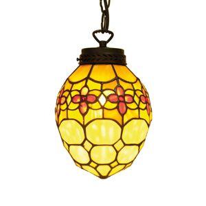 Carla - závěsné světlo v Tiffany stylu
