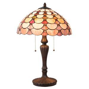 Stolní lampa Wera v designu Tiffany