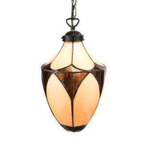 Secesní závěsné světlo Olia v designu Tiffany