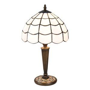 Stolní lampa Wiebke v Tiffany stylu