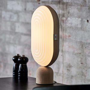 LE KLINT Arc stolní lampa LED bílý dub světlý
