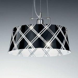 Závěsné světlo Corallo 40 1zdrojové černé