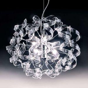 Závěsné světlo Crystal, oválné
