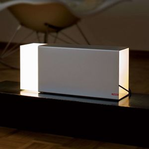 Stolní lampa Eraser 260 stříbrná