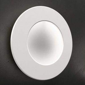 ICONE Vera 31 LED nástěnné světlo, bílá/bílá