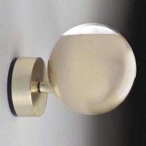 Milan Bo-La - kulové nástěnné světlo, zlaté