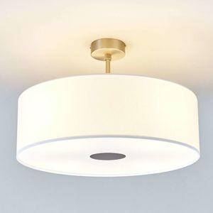 Stropní světlo Gala, 50 cm, chintz bílý