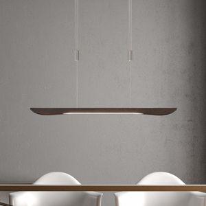 Lucande Hiba LED závěsné světlo, koloniální 88 cm