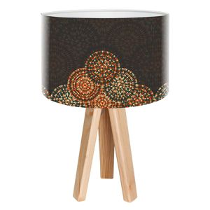 Třínohá stolní lampa Jamila v designu Etno