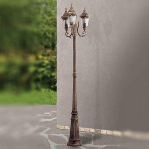 Tradiční 3zdr. pouliční svítilna PAULA
