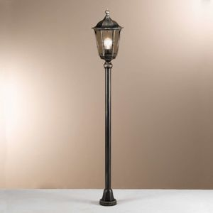 Venkovní svítidlo Puchberg, 140 cm, černá-zlatá