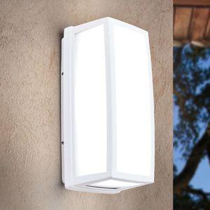 Bílé LED venkovní nástěnné světlo Bob hliník, IP54