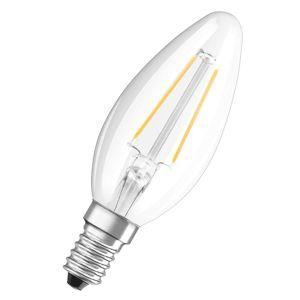 E14 1,6W 827 LED svíčková žárovka retrofit čirá
