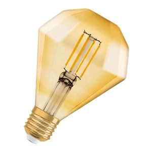 OSRAM LED E27 4,5W Vintage Diamond 825 zlatá