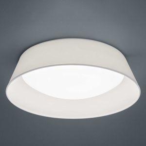 LED stropní svítidlo Ponts bílé textilní stínidlo