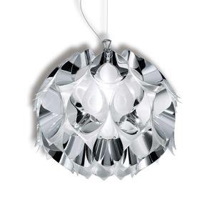 Slamp Flora - závěsné světlo, stříbrné, 36 cm