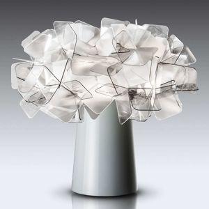 Slamp Clizia - designová stolní lampa, šedá