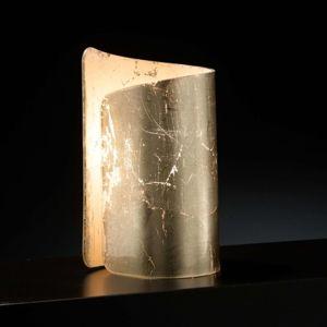 Stolní lampa Papiro, zlatá