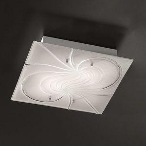 Čtvercové stropní světlo Mistral 40 cm