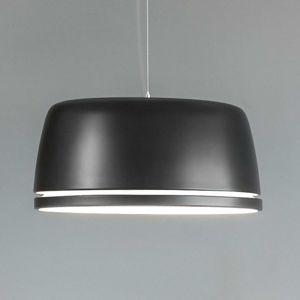 serien.lighting Central - LED závěsné světlo černé