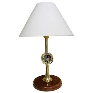 Stolní lampa Telegraph s dřevěnou nohou