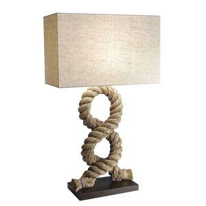 Stolní lampa Victoria, hranaté stínidlo