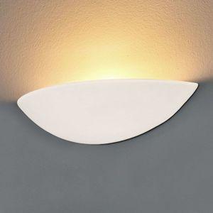 Pale LED nástěnné světlo ze sádry, přizpůsobitelné