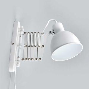 Tahací harmonika - bílé nástěnné světlo Talaro