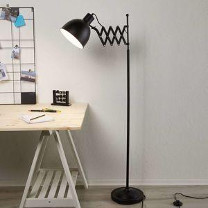 Rafinovaná stojací lampa Talaro černá