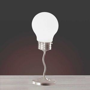 Stolní lampa Lampadina ve tvaru žárovky