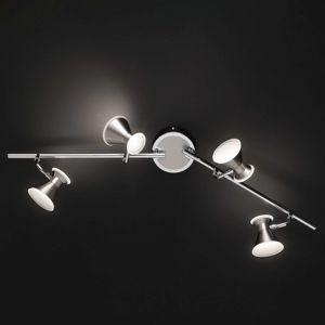 Duke - flexibilní stropní LED světlo, 4 žárovky