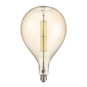 LED žárovka kapka E27 8W 2.700 K jantarová