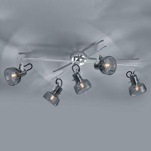 Stropní světlo Kolani 5 žárovky