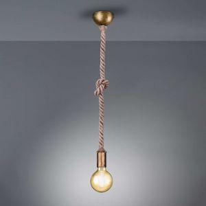 Závěsné světlo Rope s dekorativním lanem 1žár.