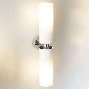 Nástěnné světlo Tube Twin, chrom