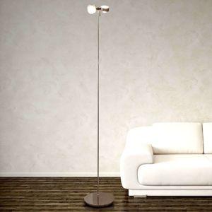 Flexibilní stojací lampa PUK FLOOR, chrom, 2zdr