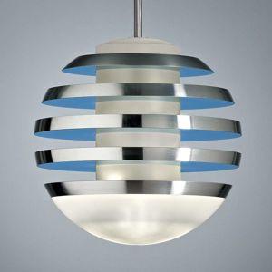 TECNOLUMEN Bulo - LED závěsné světlo světle modré