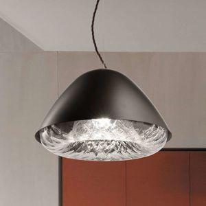 Závěsné světlo Kira SP P E27 křišťálové sklo