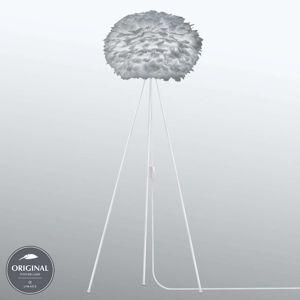 UMAGE Eos medium stojací lampa Tripod světle šedá