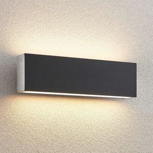 Lucande Aegisa LED venk. nástěnné světlo, hranaté
