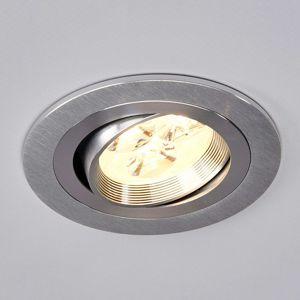 Kulaté vestavné LED osvětlení Tjark z hliníku