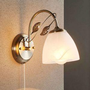 Nástěnná lampa Michalina v klasickém stylu