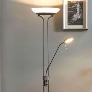 Yveta - stojací stropní LED osvětlení rezavé