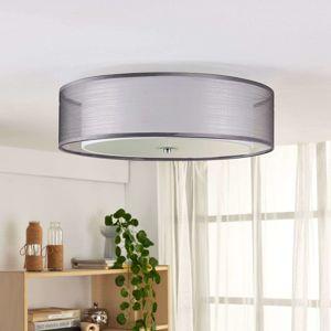Stropní LED lampa Tobia, šedá, stmívatelná