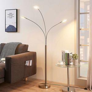 3bodová LED stojací lampa Anea