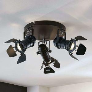 Kruhové stropní světlo Tilen, 3zdrojové
