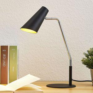 Lucande Wibke stolní lampa v černé barvě