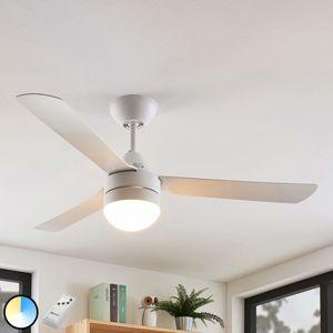 Lindby Andi, osvětlený stropní ventilátor, E14