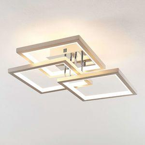 Lucande Avilara LED stropní světlo, 57 cm x 57 cm