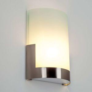 Nástěnné světlo Karla s kovovým prvkem šířka 20 cm